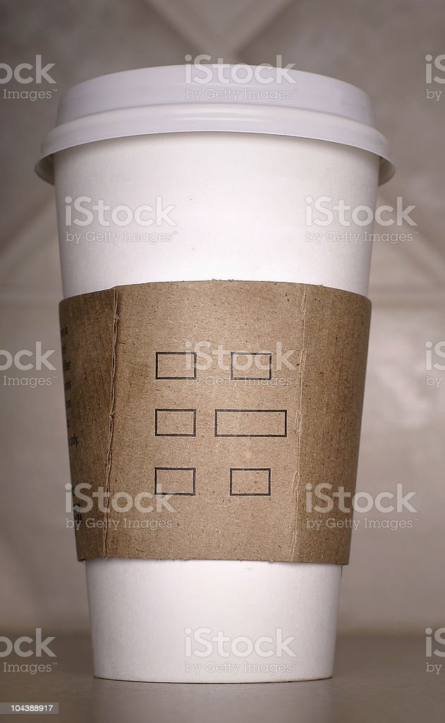 coffee_add text 2 royalty-free stock photo