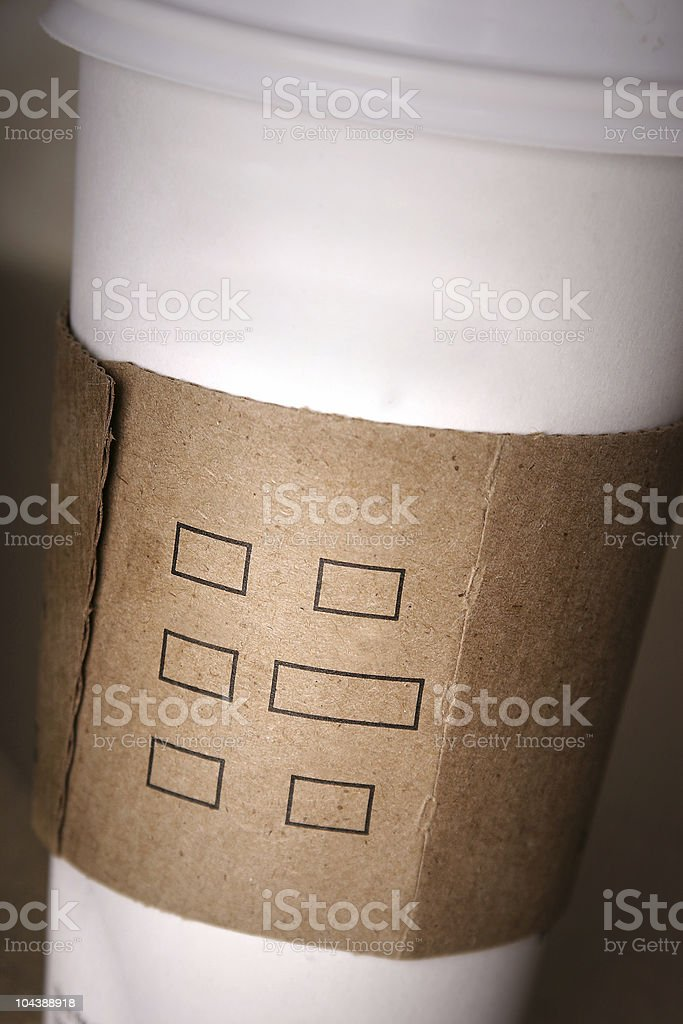 coffee_add text royalty-free stock photo