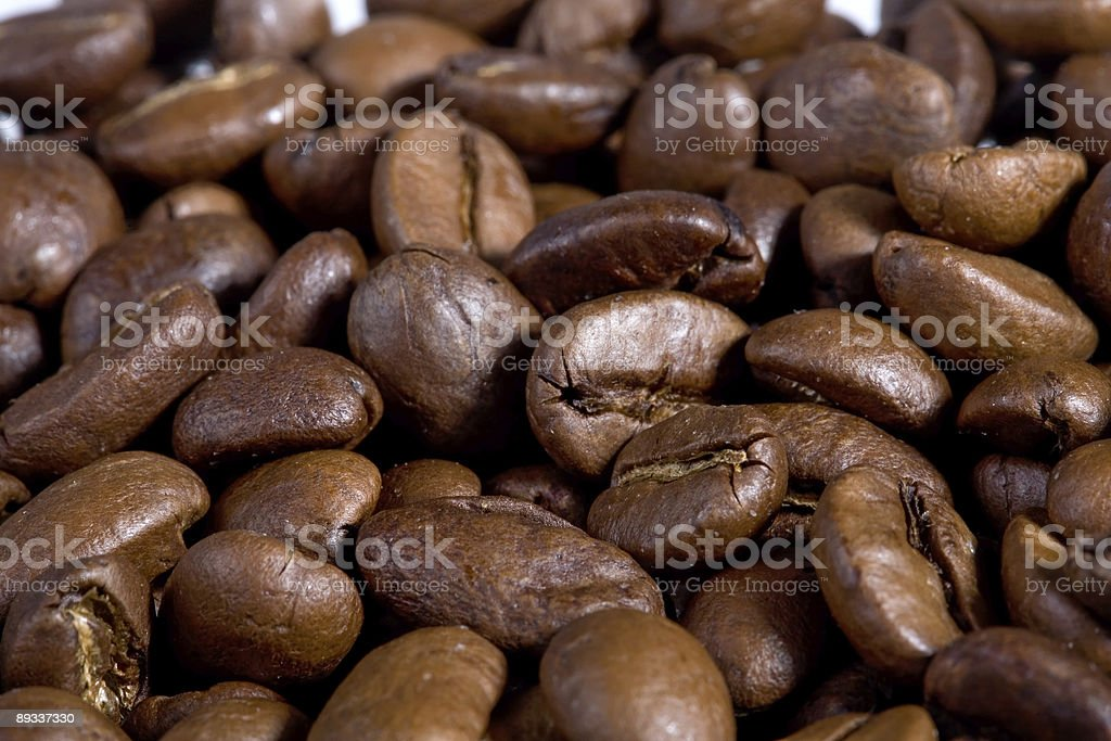 Coffeebeans close-up. royalty-free stock photo