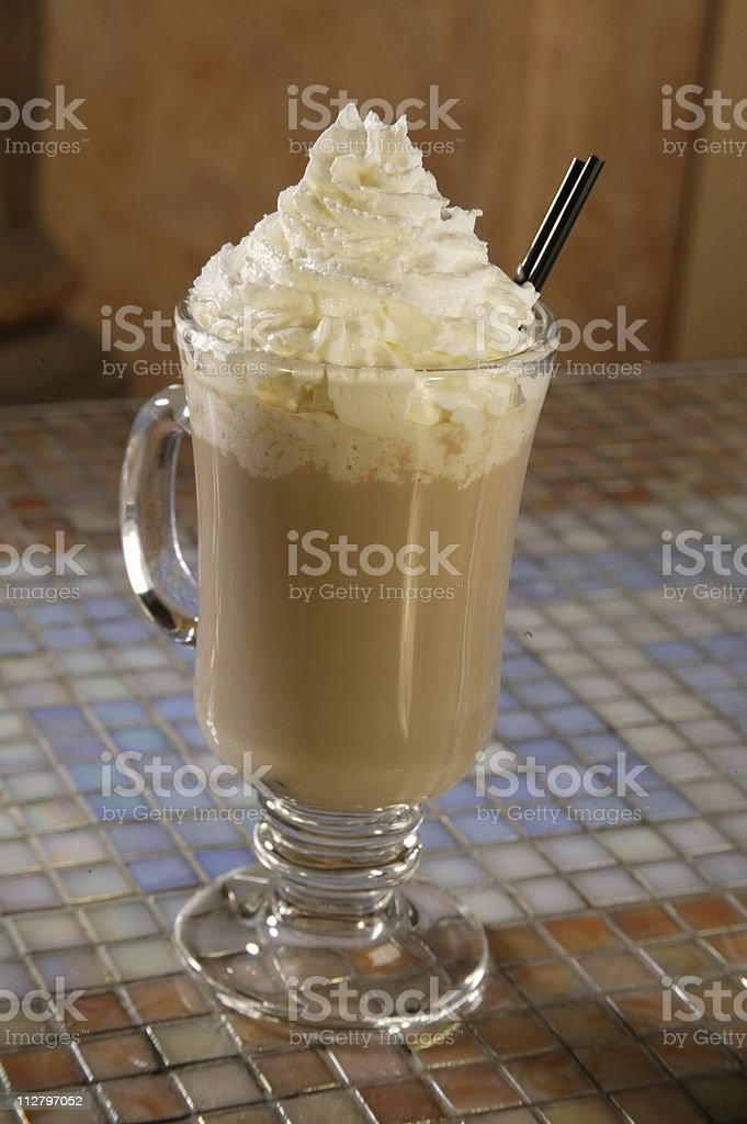 Coffee/Chocolate drink royalty-free stock photo