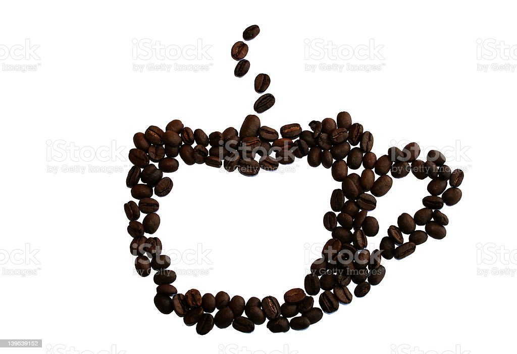 coffee-cup royalty-free stock photo