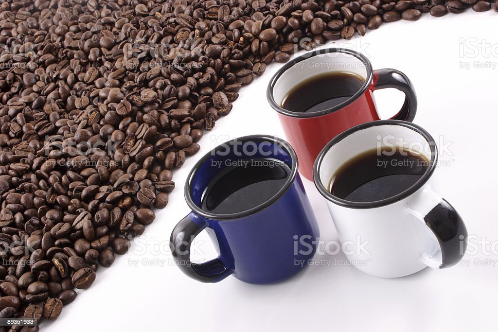 Coffees royalty-free stock photo