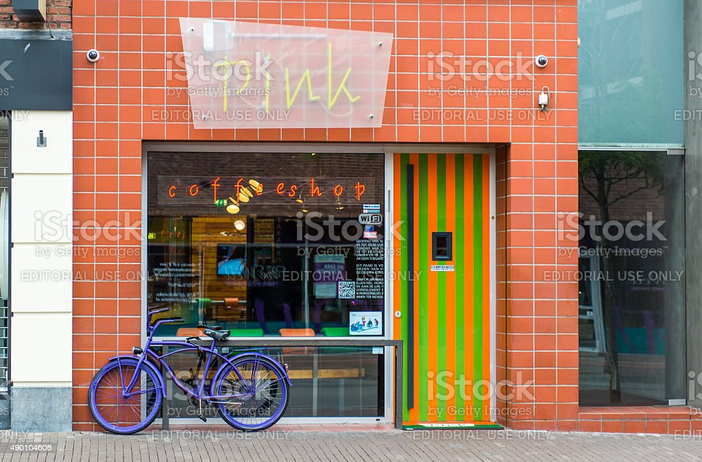 Coffeeshop stock photo