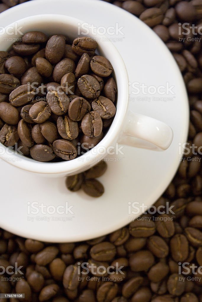 Coffee-shop stories royalty-free stock photo