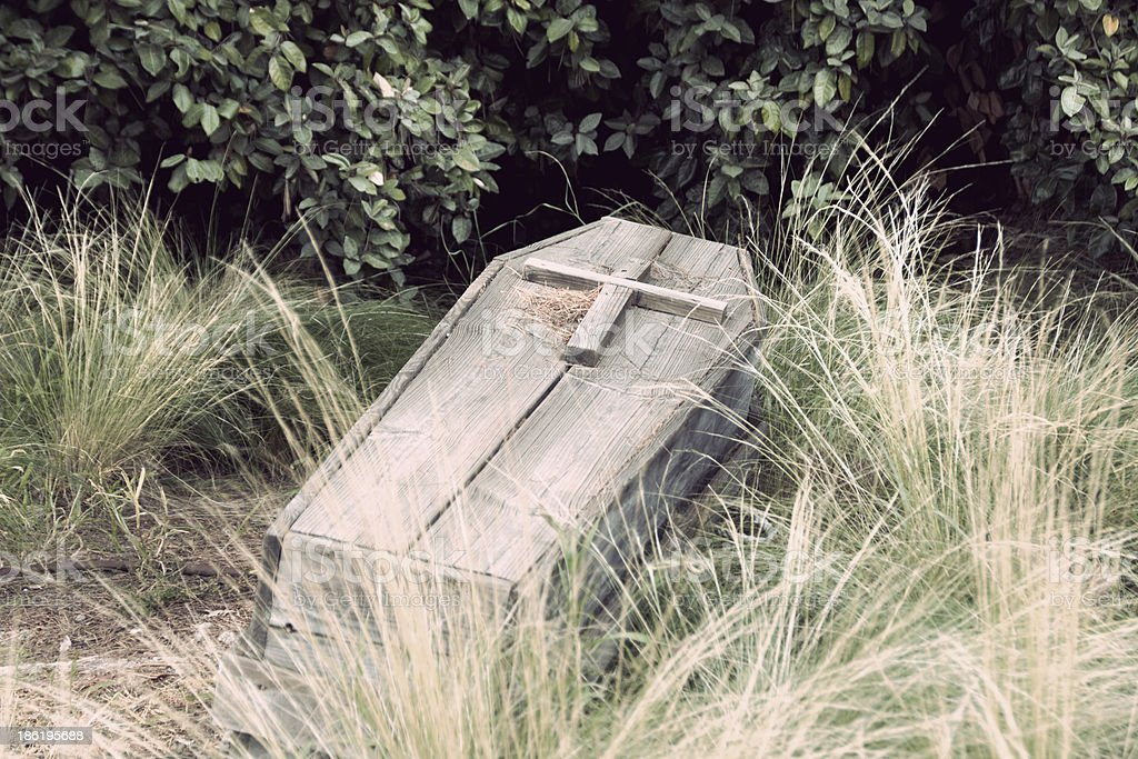 coffin hood royalty-free stock photo