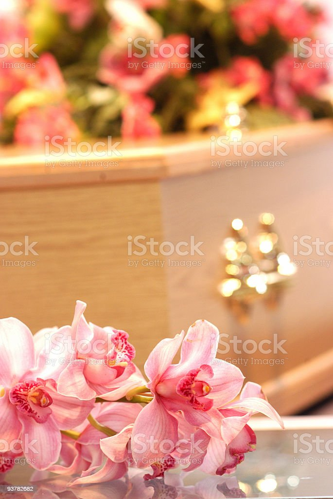 Coffin royalty-free stock photo
