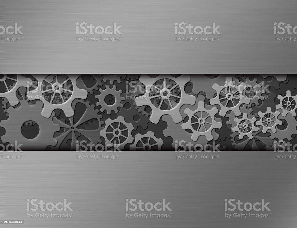 cog / rack background stock photo