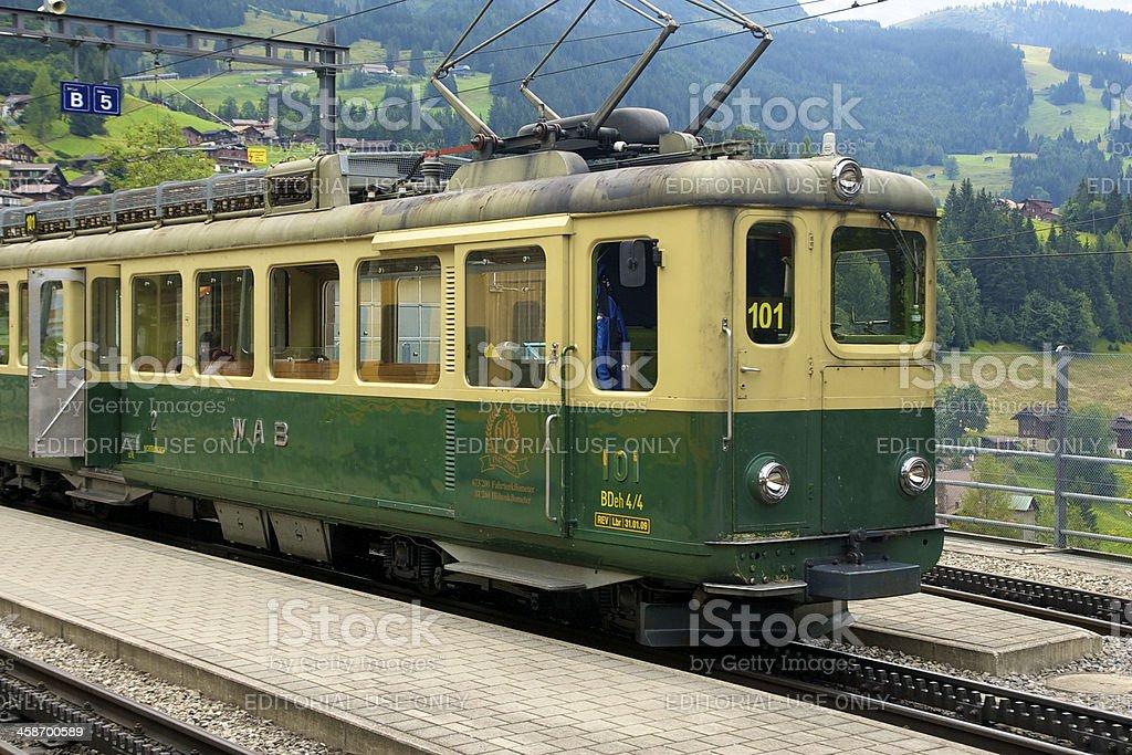 WAB Cog Train royalty-free stock photo
