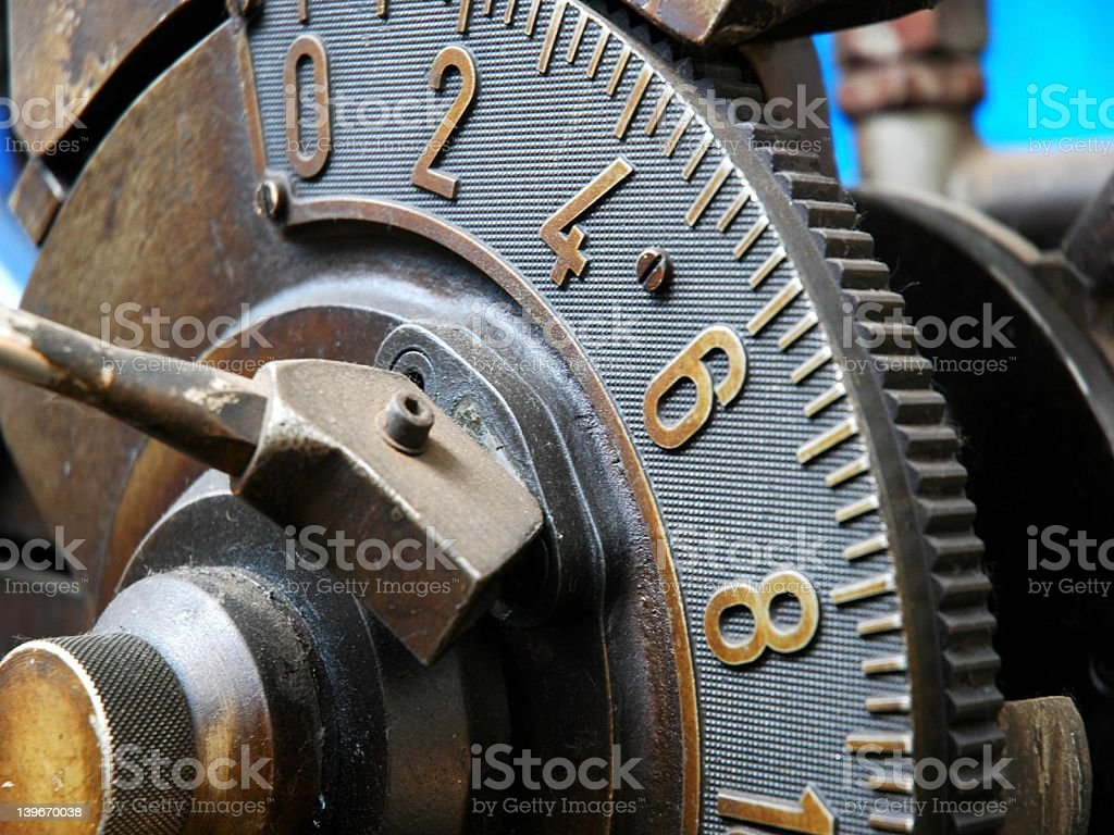 Cog Wheel stock photo