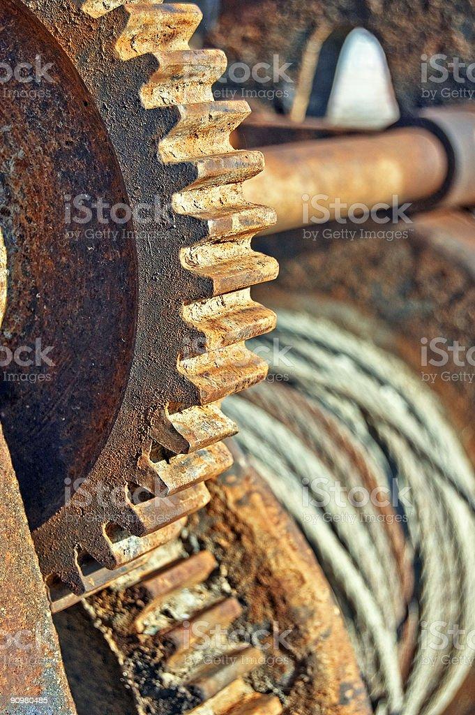 Cog wheel royalty-free stock photo