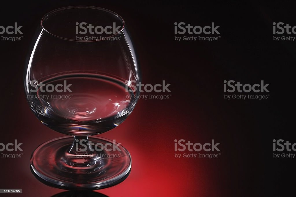 cognac glass royalty-free stock photo