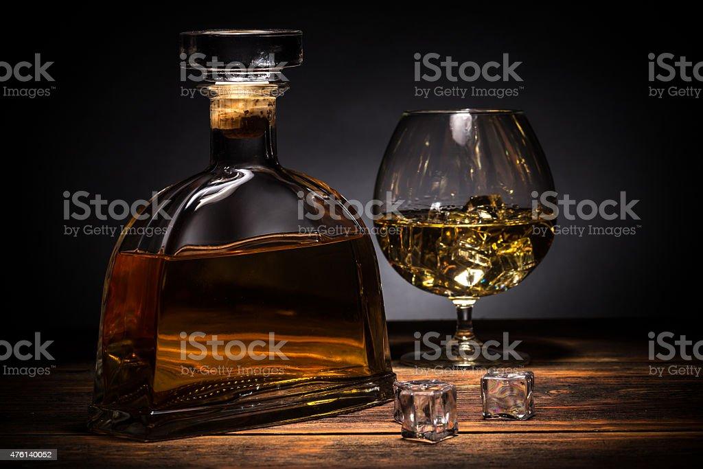 Cognac stock photo