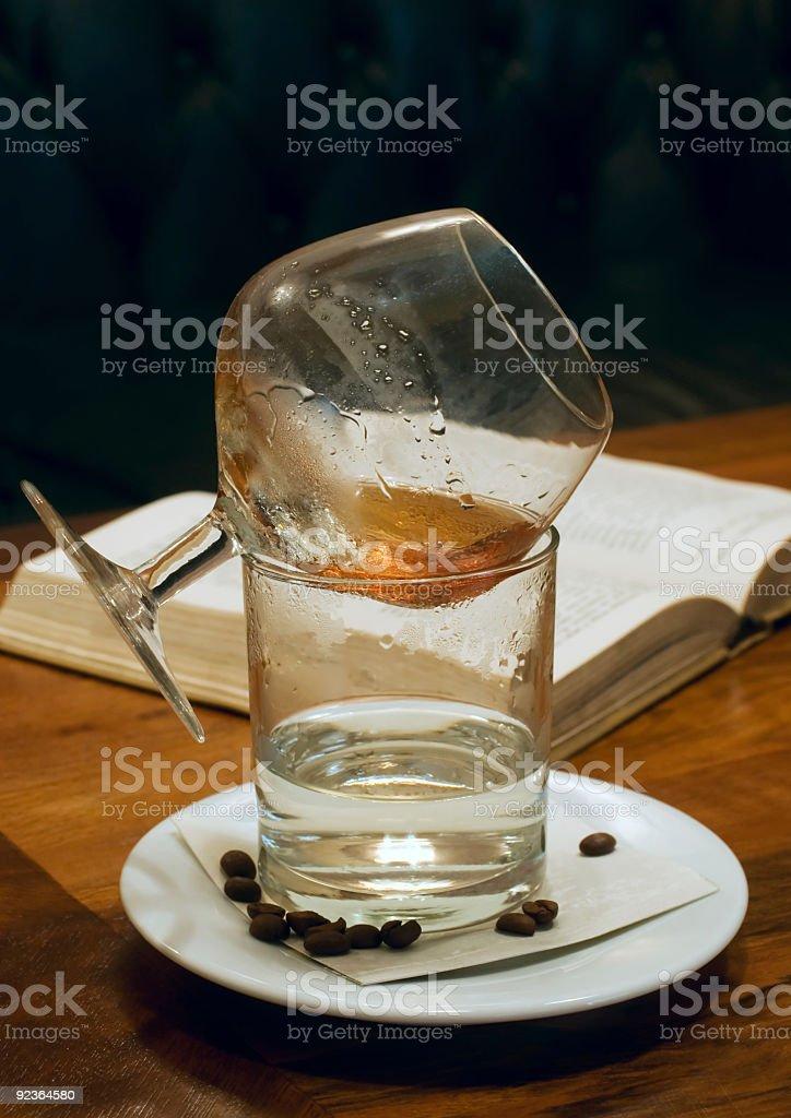 Cognac foto stock royalty-free