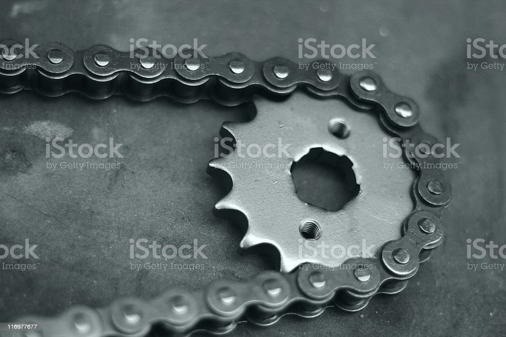 Cogwheel royalty-free stock photo