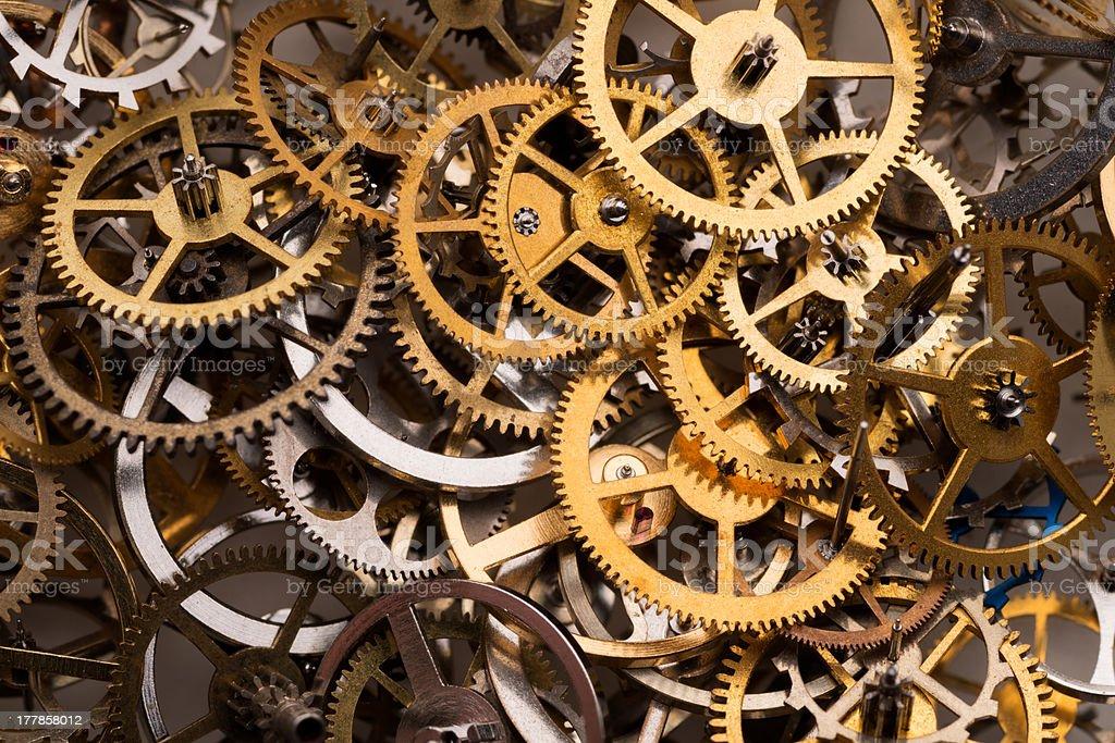 Cogwheels background royalty-free stock photo