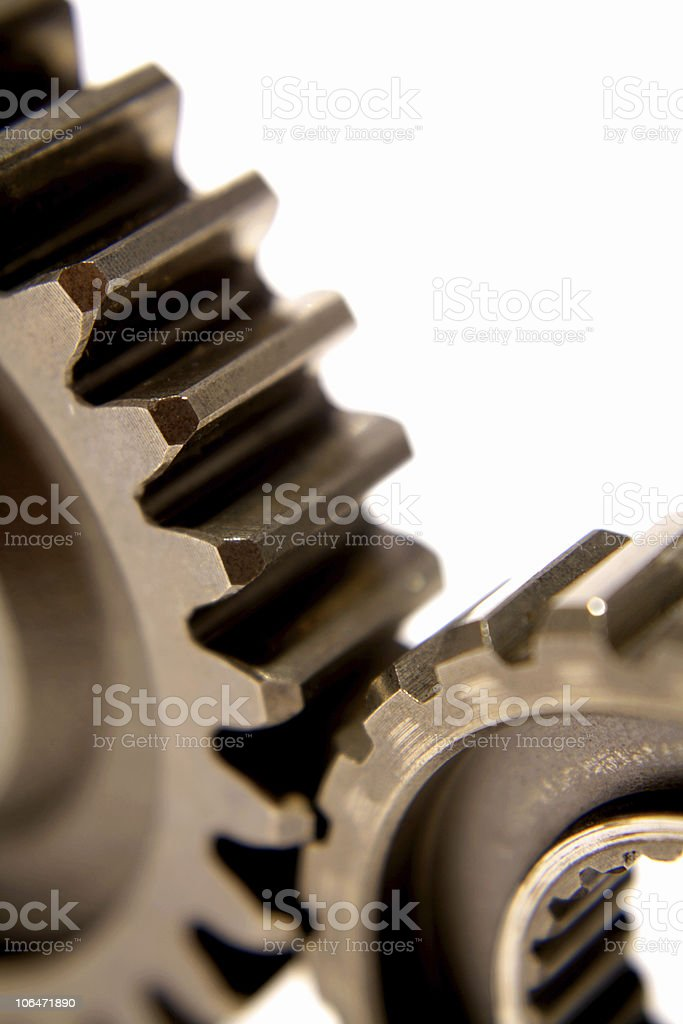 Cogwheels royalty-free stock photo
