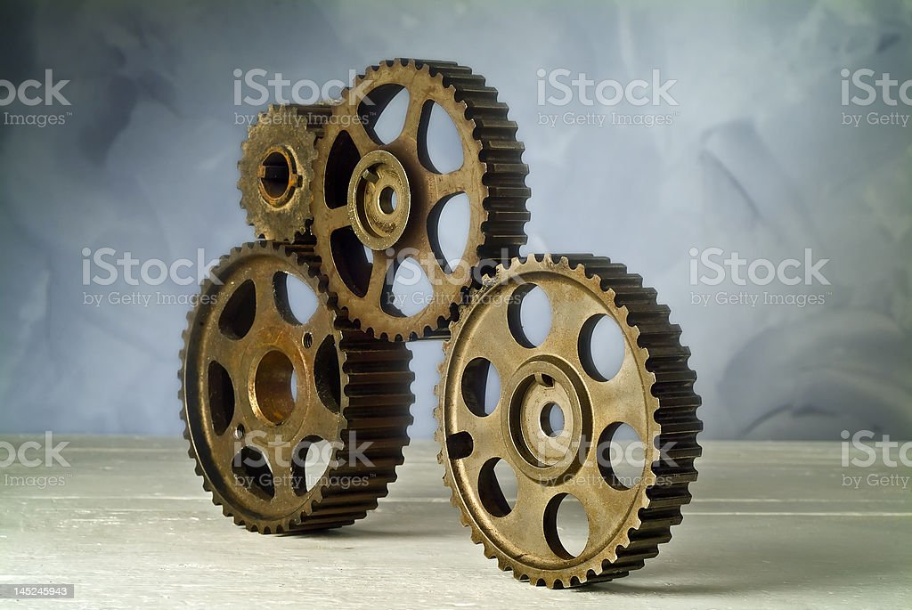 cog-wheels stock photo