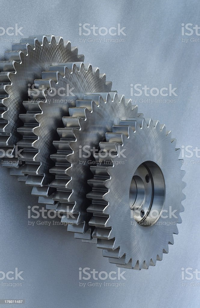 Cog-wheels royalty-free stock photo