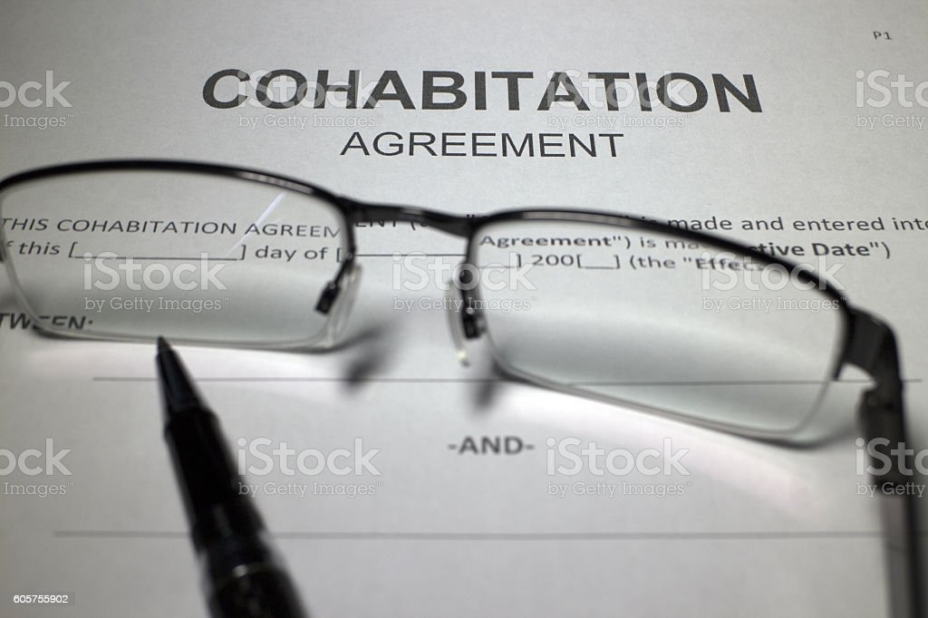 Cohabitation Agreement Stock Photo 605755902 | Istock