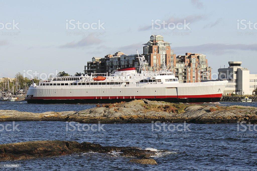 Coho Ferry stock photo