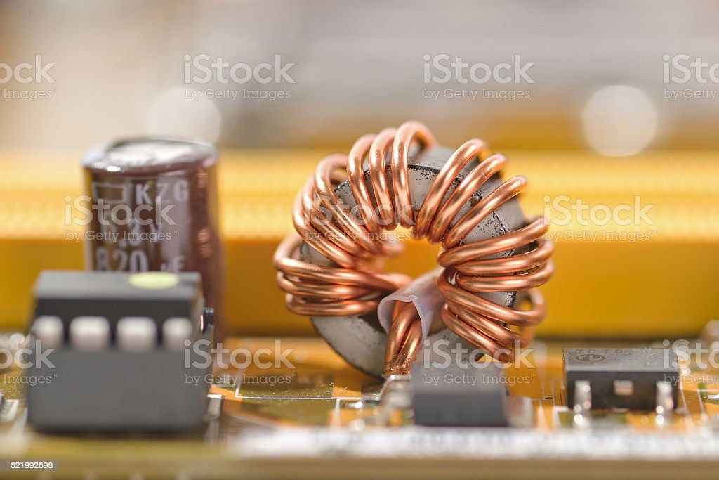 coil stock photo