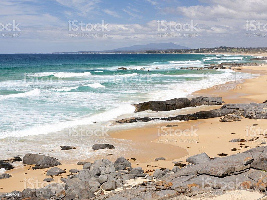 Coila Beach photo libre de droits