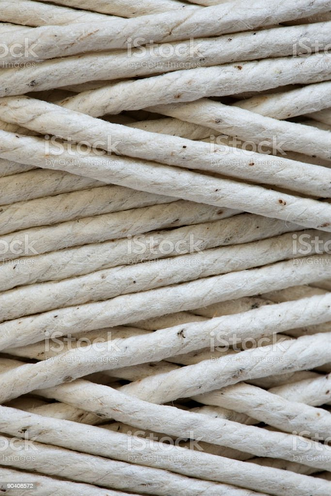 Coiled String stock photo