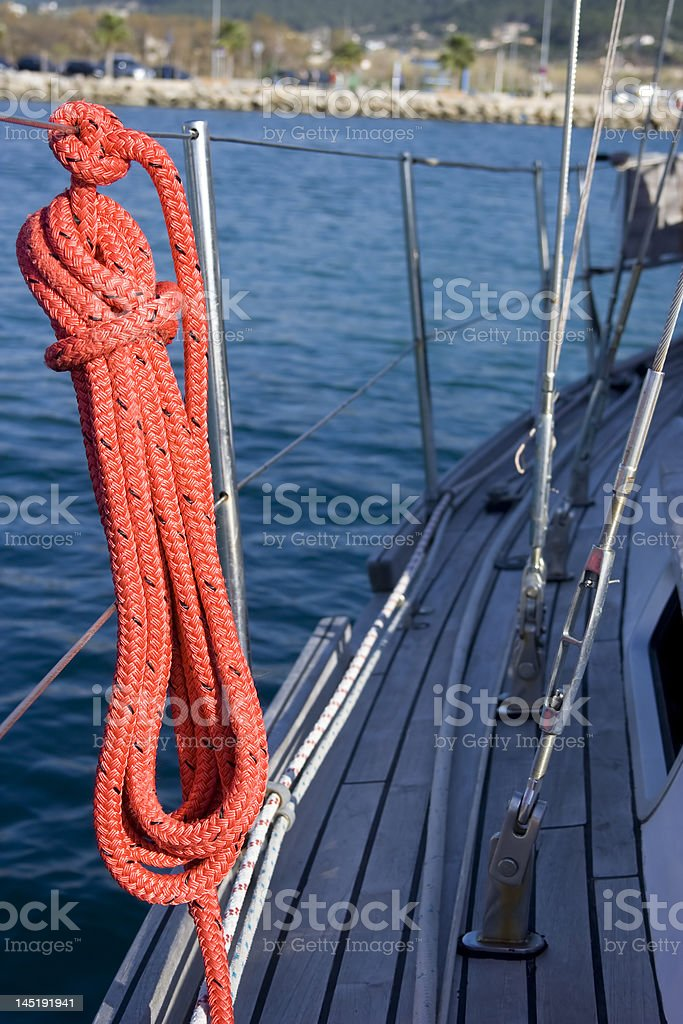 Coiling line. royalty-free stock photo