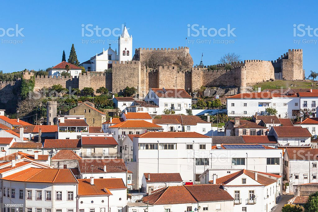 Coimbra, Portugal, Old City View royalty-free stock photo