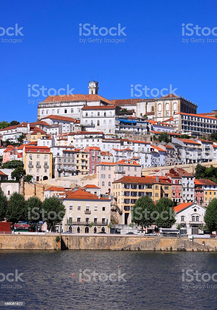 Coimbra University stock photo