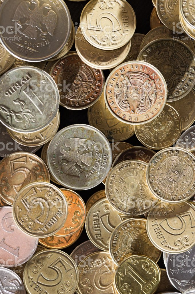 coin. close stock photo