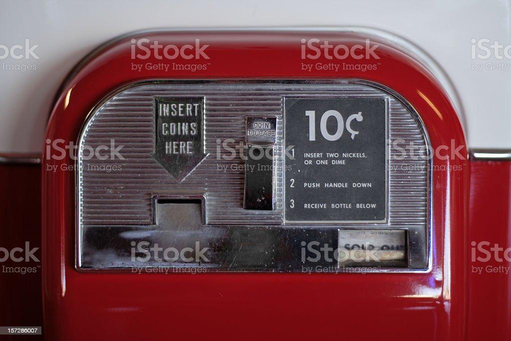Coin Deposit stock photo