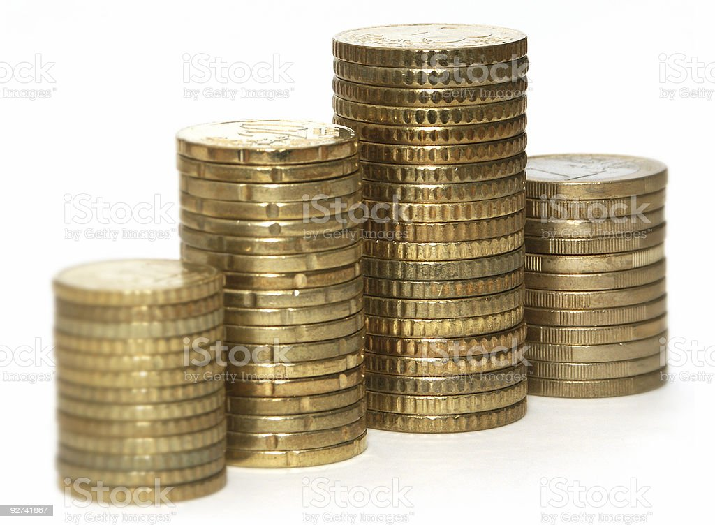 Coin Graphic royalty-free stock photo