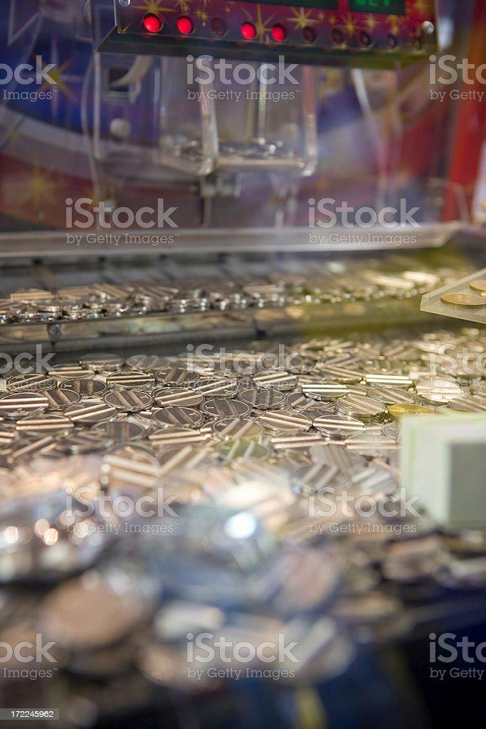 Coin hazard stock photo