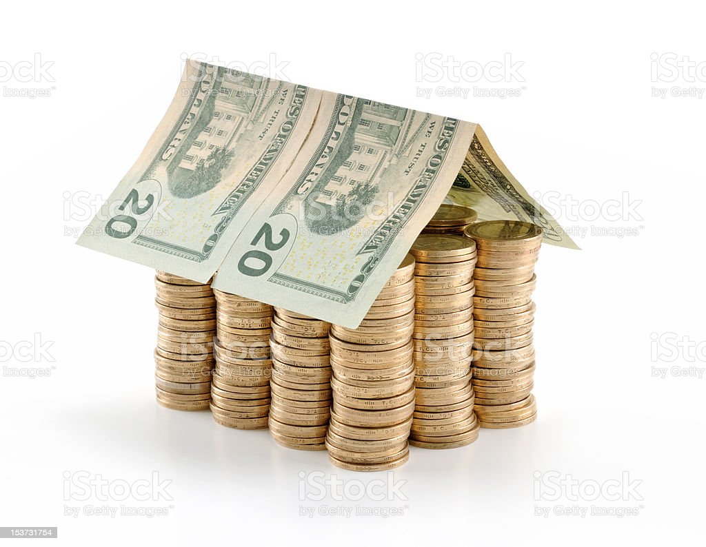Coin House royalty-free stock photo