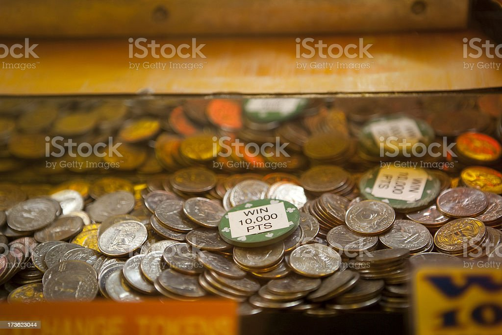 Coin operated game machine royalty-free stock photo