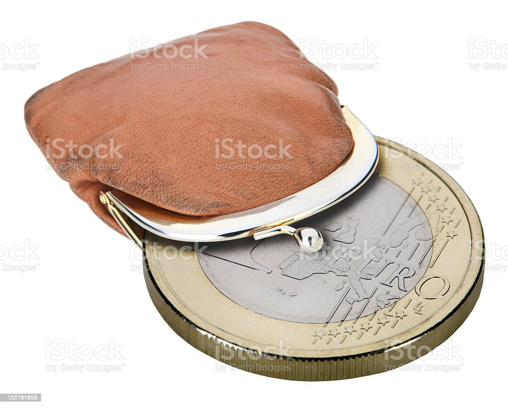 coin purse royalty-free stock photo