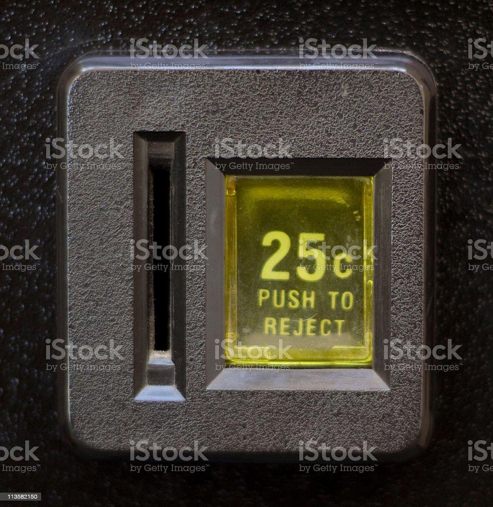 coin slot stock photo