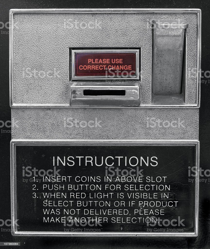 coin slot royalty-free stock photo