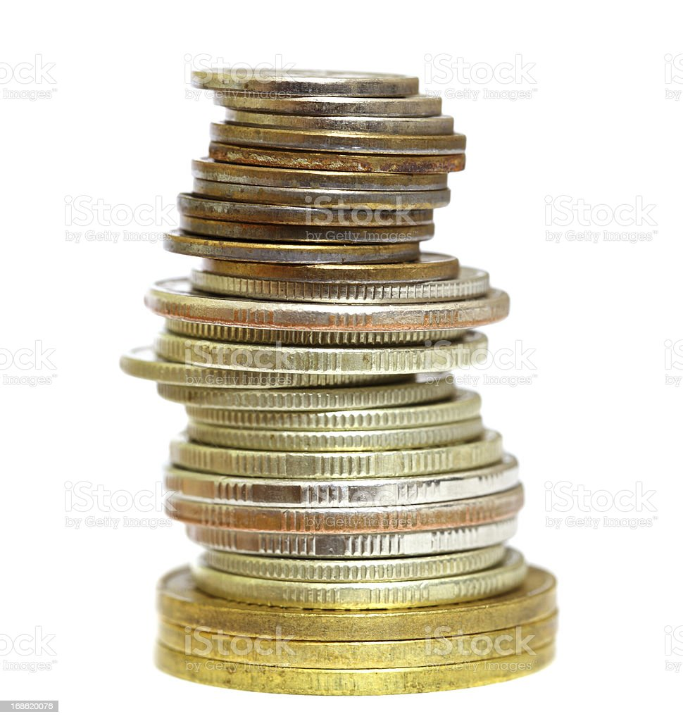 Coin Stack royalty-free stock photo