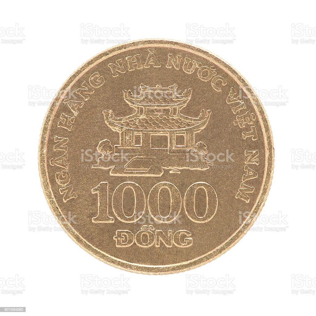 Coin Vietnam 1000 Dong stock photo