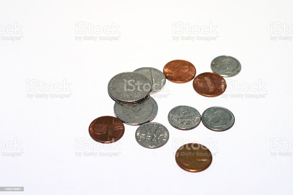 coins 2 royalty-free stock photo