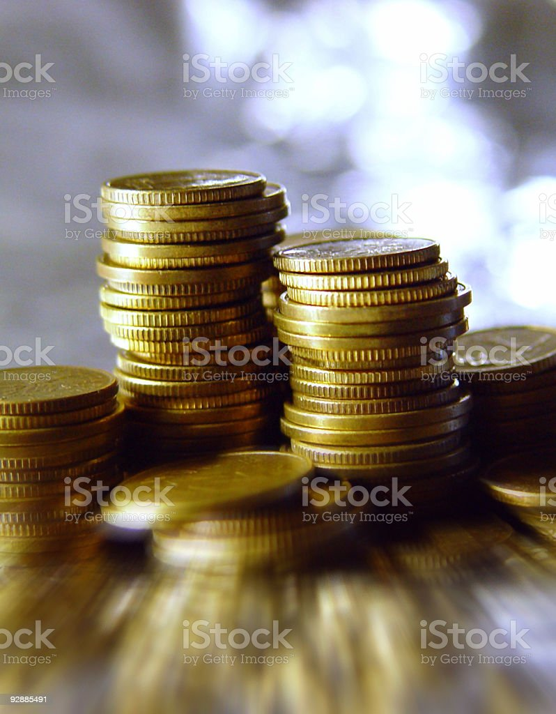 Coins Coins royalty-free stock photo