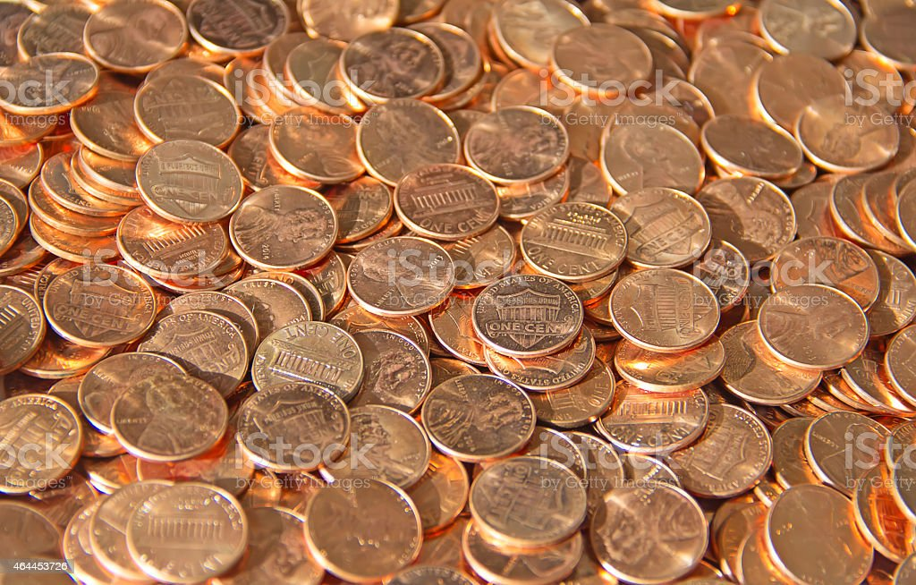 US Coins stock photo