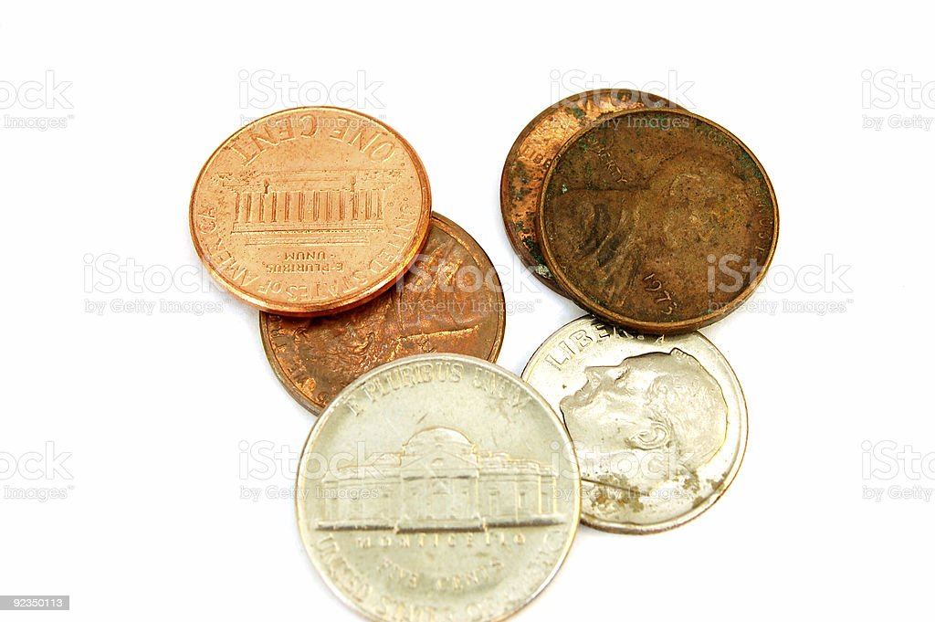 coins #3 royalty-free stock photo
