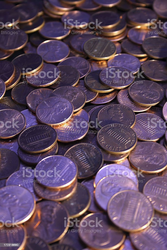 Coins series 2 royalty-free stock photo