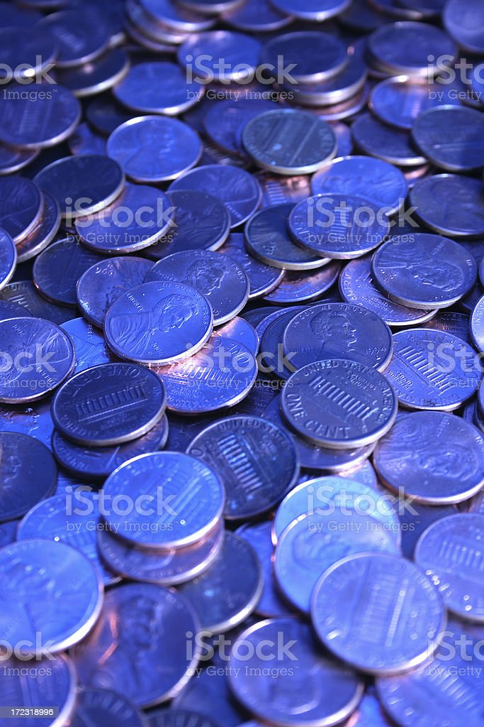 Coins series 3 royalty-free stock photo