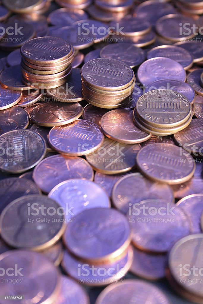 Coins series 8 royalty-free stock photo