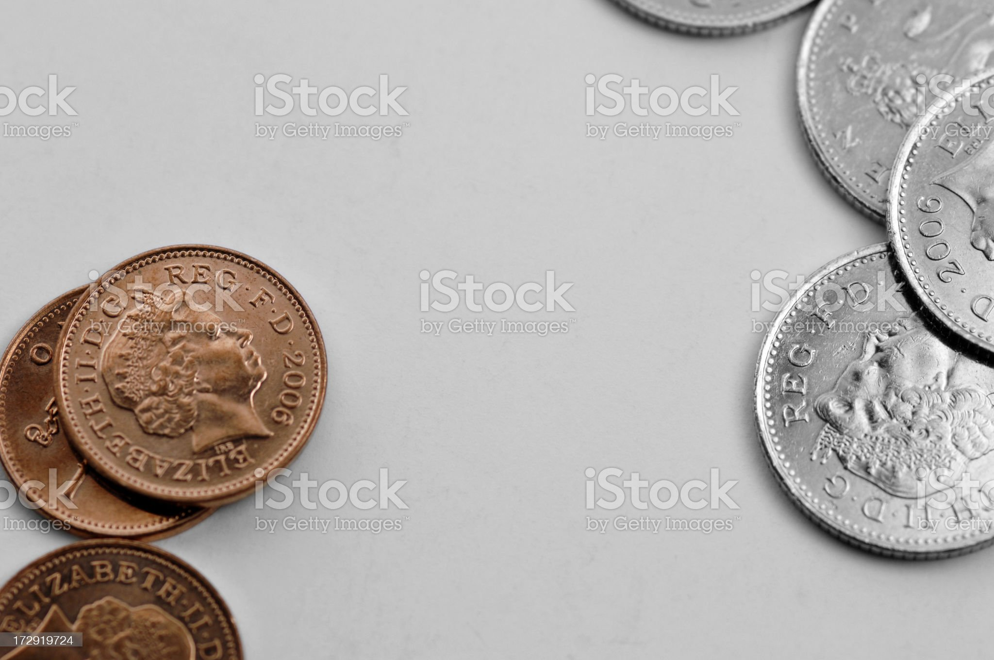 coins series royalty-free stock photo