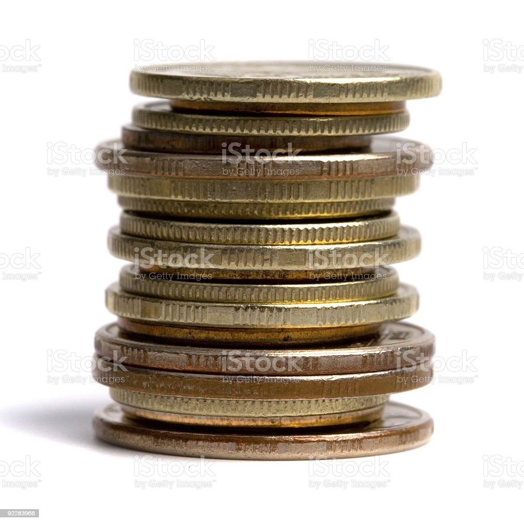 coins stack royalty-free stock photo